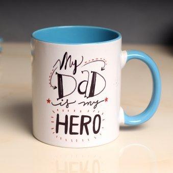 My Dad My Hero Fathers Day Mug