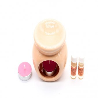 Top view of Natural Oil Diffuser Gift Set for Brother