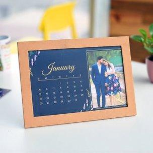 Personalised Calendar of New Year