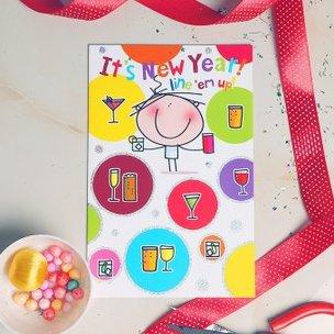 New Year Fun Card