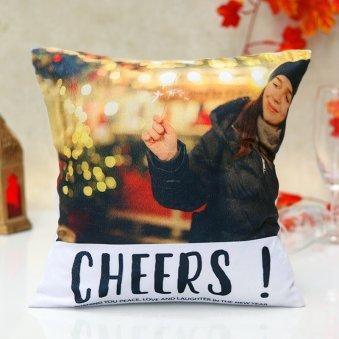 New Year Personalised Cushion