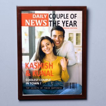News Cover Image Photo Frame Gift