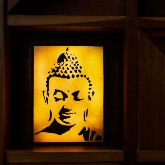 Nirvana Buddha Wall N Table Top Lamp