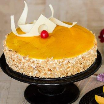 Nutty Mango Cake