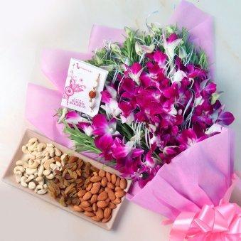 Orchid Rakhi Nuts