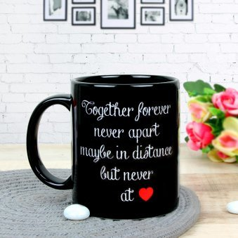 Partners For Life - A Customised Anniversary Mug with Back Sided View