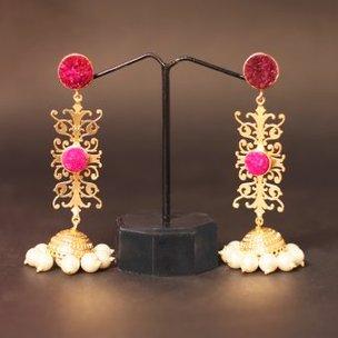Pearl Earrings - Attractive Pair of Earrings