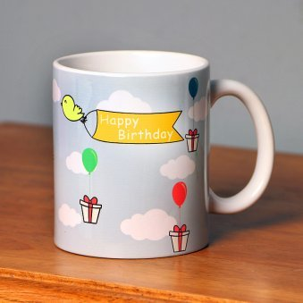 Personalised Happy Birthday Mug for Girl
