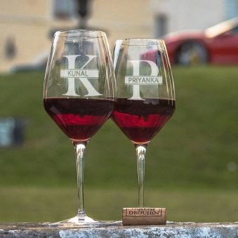 Custom Wine And Beer Glasses