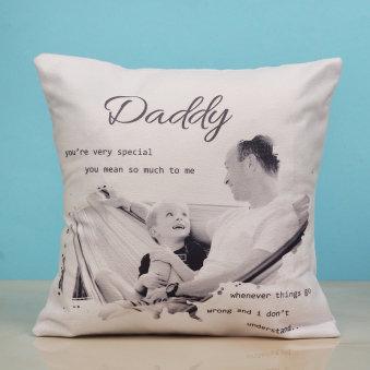 Personalised Daddys Cushion