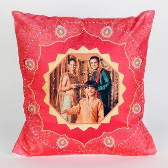 Personalised Diwali Cushion - Diwali Gift
