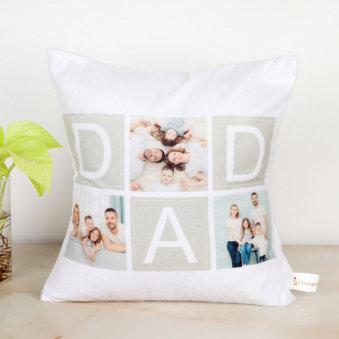 Personalised Family Portrait Cushion