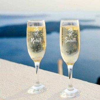 Custom Champagne Flutes
