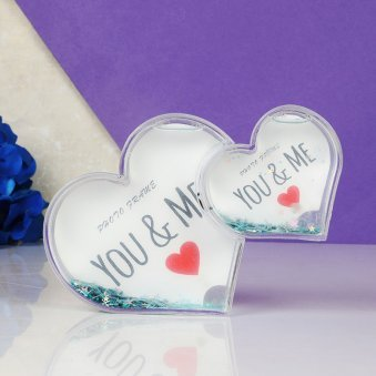 Personalised Love Couple Photo Frame Gift For Valentine Day