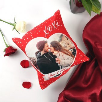 Personalised Love Cushion for Valentines Day Gift