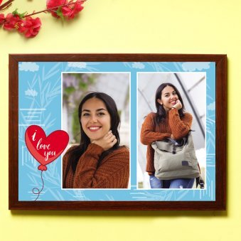 Personalised Love Frame - One Personalised Wall Frame