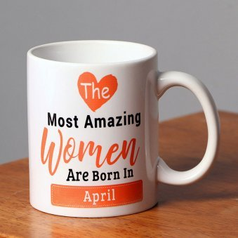 Personalised Birthday Coffee Mug - A Perfect Gift for Her