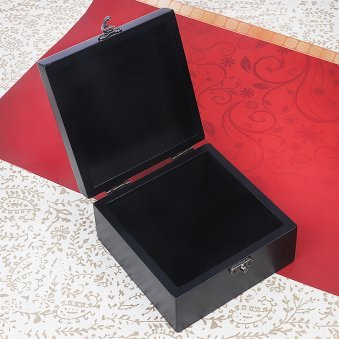 A Personalized Photo Box in Opened View
