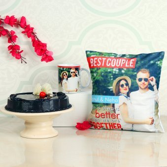 Photo Gifts Cake Combo
