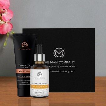 Powerful Skin Hydrator - Vitamin C Serum 30 ml and Sunscreen Lotion 59 ml