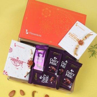 Rakhi Chocolate Signature Box