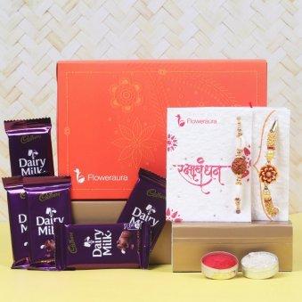 Product View in Rakhi Chocolate Signature Box