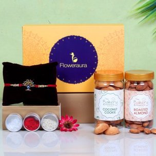 Rakhi Nut Cookie Signature Box