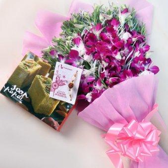 Rakhi Orchid Soan Papdi