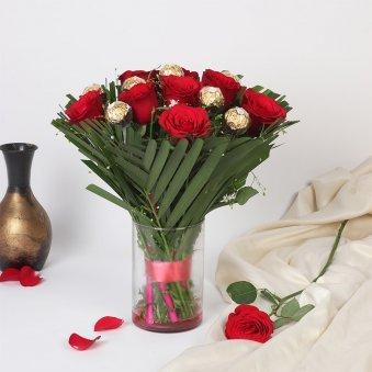 Roses and Ferrero Rocher