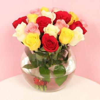 Royal Mixed Color Roses