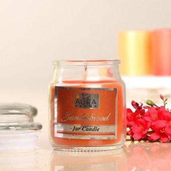 Zoom view of Premium Sandalwood Jar Candle Gift
