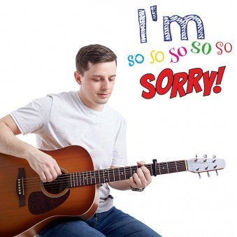 I Am Sorry With Guitar Tune Song