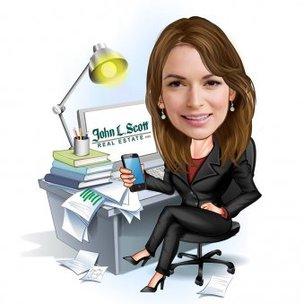 Boss Lady Caricature Gift