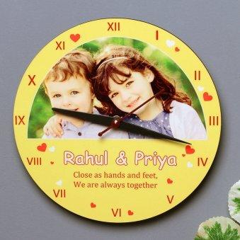 Together Forever Clock