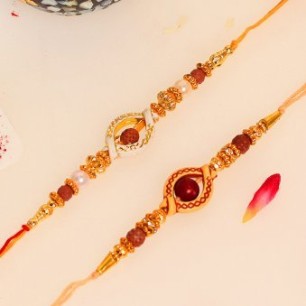 Product View in Two Rakhi Signature Box