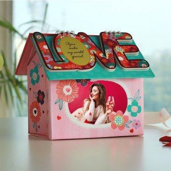 Valentine Personalised Photo Hut