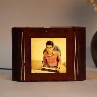 Valentines Day Photo Lamp Box