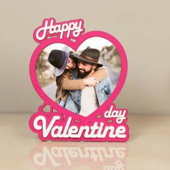 Happy Valentines Day Personalised Photo Frame