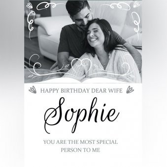 Wife Birthday Custom E-Cards