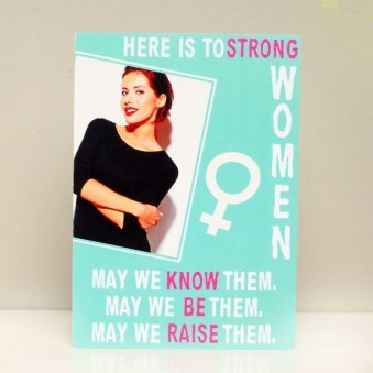 Womens Day Greeting Card - Personalised Greeting Card