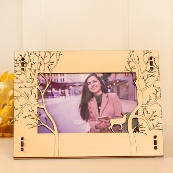 Personalised Photo Frame for Girlfriend