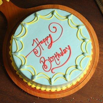 Yummy Creamy Treat - Birthday Cake