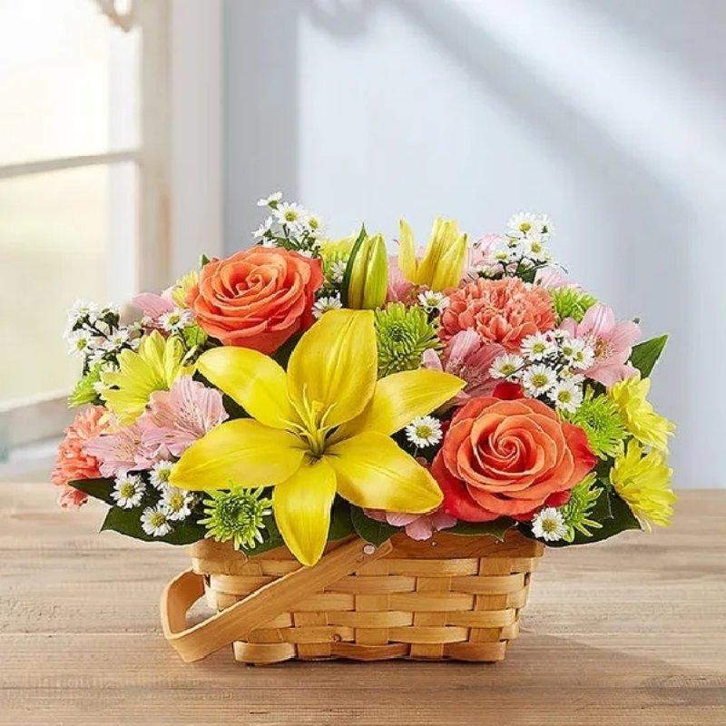 Sunshine Floral Basket Assortment