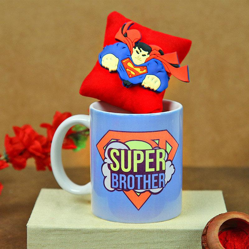 Super bro Rakhi N mug
