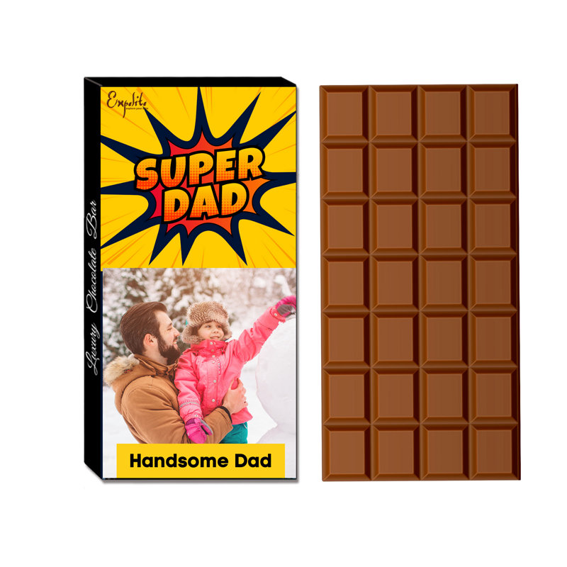 Super Dad Chocolate Bar