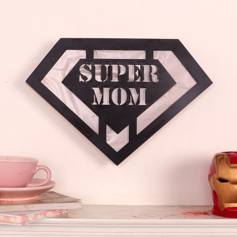Super Mom Wall Decor