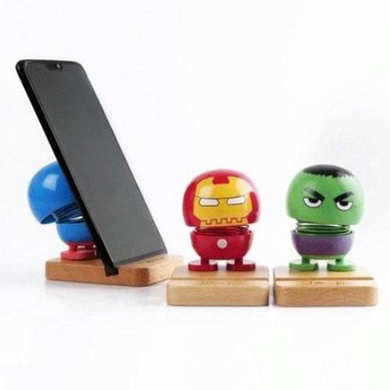 Superhero Bobble Phonestand