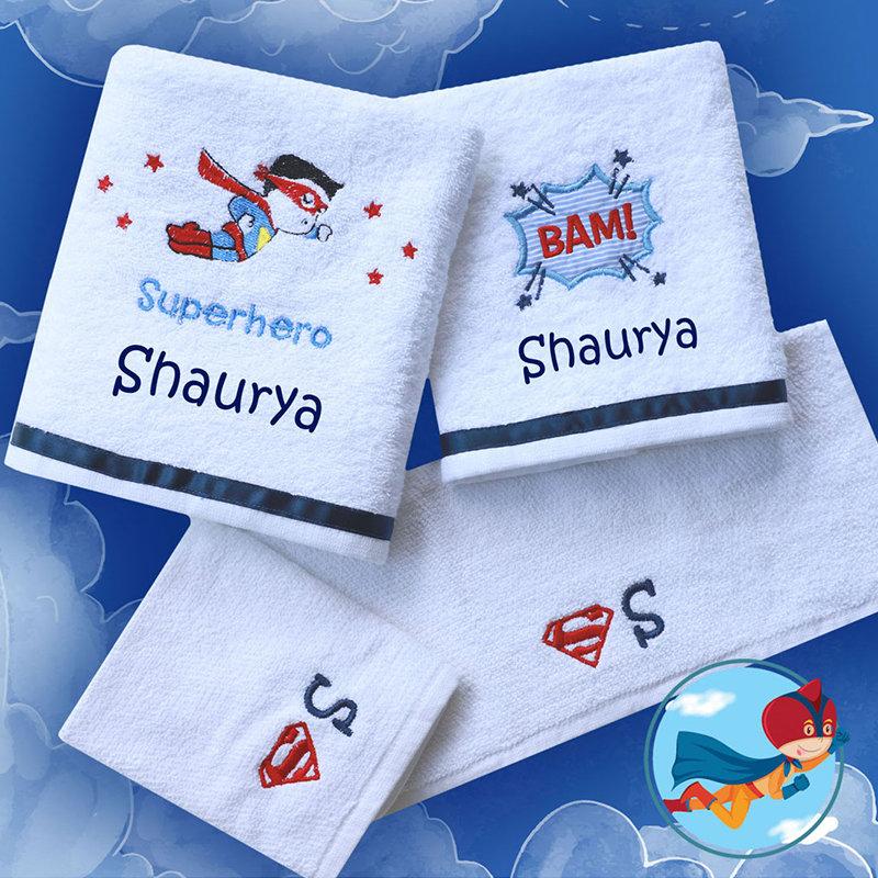 Superhero Custom Towels
