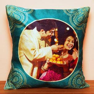 Personalised Cushion for Siblings