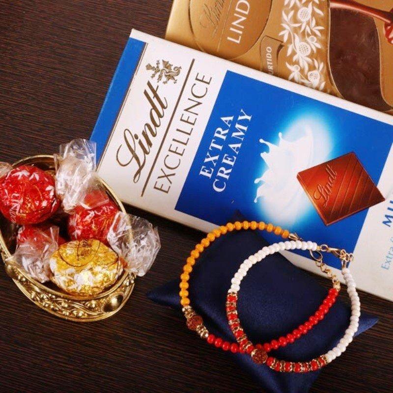 Sweet Bracelet Rakhi Combo